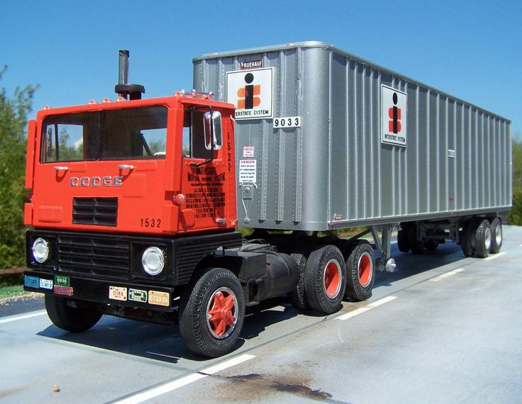 Dodge COE, they ran the ITR.