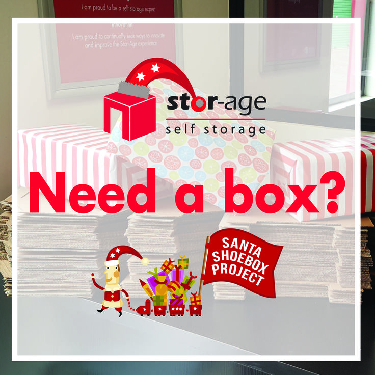 Santa Shoebox Project Pledging is OPEN!!! Collect your empty box at any of our stores nationwide! #SSB2016 #bigredbox