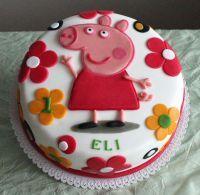 Dětský dort Rozkvetlá louka Peppa Pig 2D | Dětské dorty fotogalerie | www.restaurace-bobovka.cz | www.futurama-caffe.cz