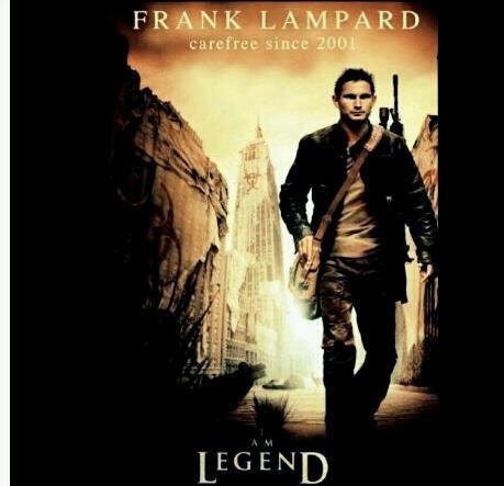 Frank Lampard , I am Legend