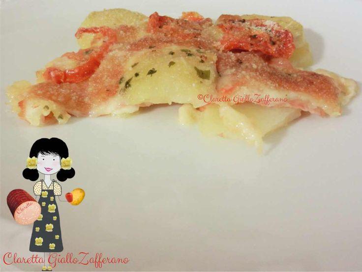 Pasticcio di patate con mortadella, Ricetta gustosa, 253.0