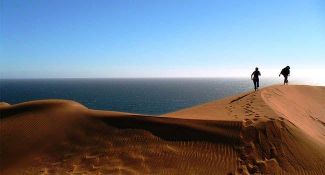 caminando x las dunas