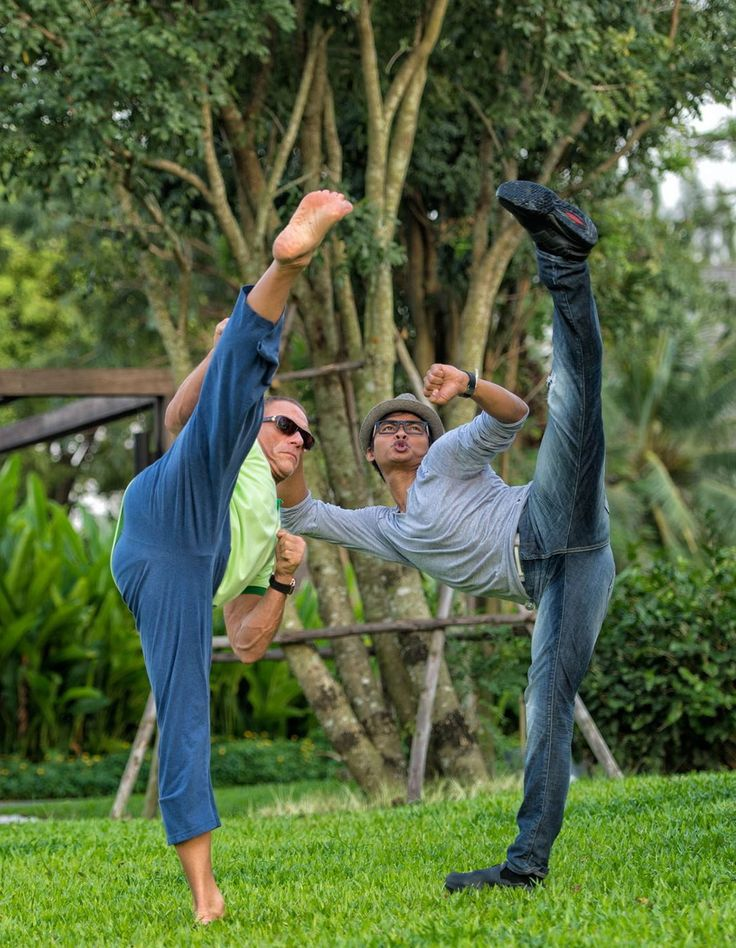 The Blind Ninja           - Jean-Claude Van Damme and Tony Jaa