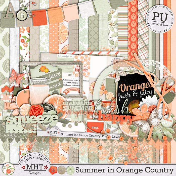 FREE Freebie Friday: Summer in Orange Country –MHT... [There are 6 parts.]