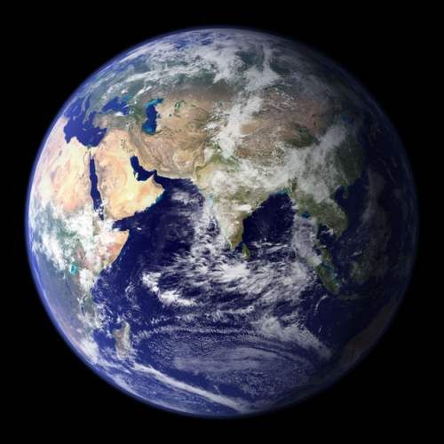1. This is the Earth! This is where you live.Page 26 will really put things into perspective!NASA Goddard Space Flight Center Image / Via visibleearth.nasa.gov2. And this is where you live in your...