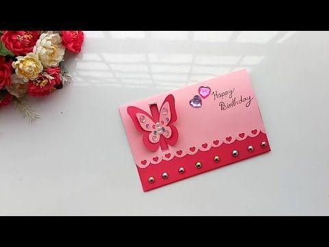 Beautiful Handmade Birthday Card Idea Diy Greeting Pop Up Cards