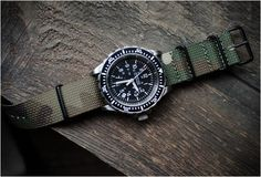 Man watch. Its got Camo, markings galore and a chunky bezel. What more do you need? MARATHON WATCH