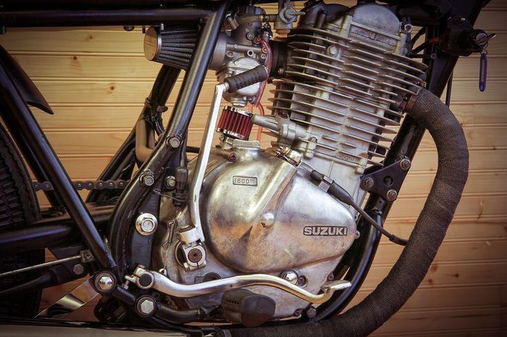 Suzuki GN 400 engine