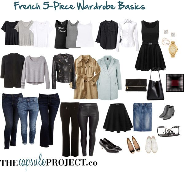 French wardrobe basics for your capsule wardrobe capsule Fashion style questionnaire sample