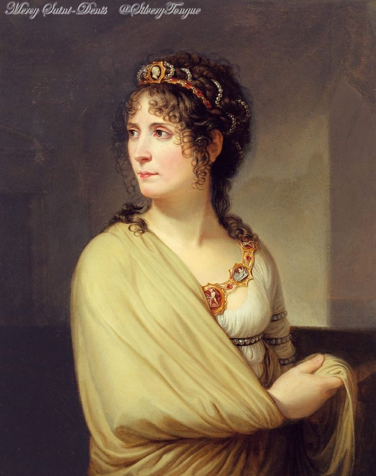 Portrait of Joséphine by Andrea Appiani. oil on canvas, about 1797.