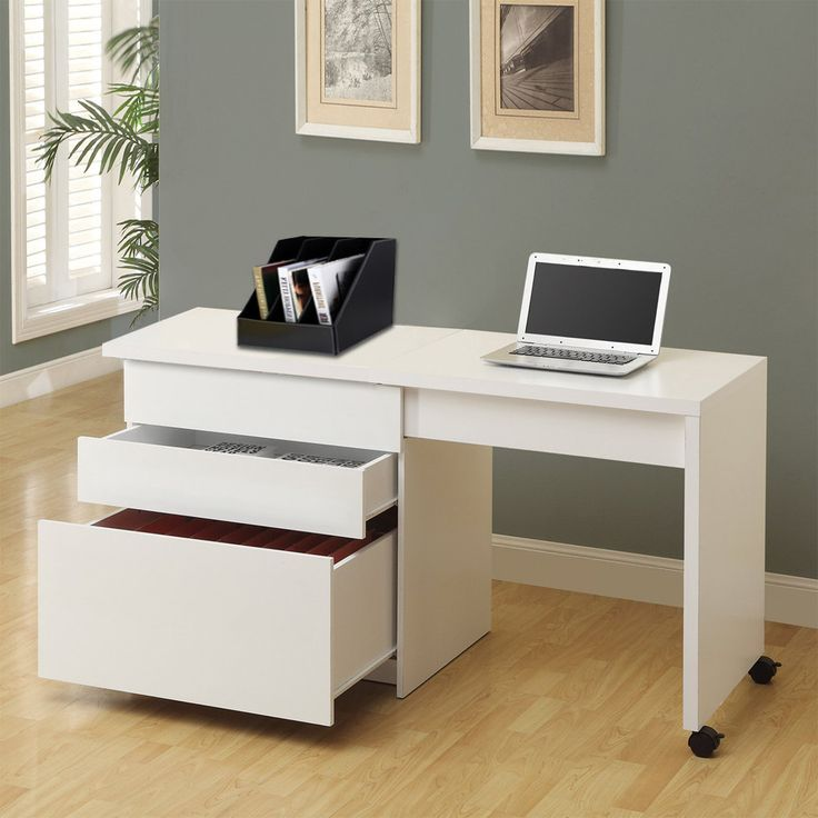 Convertible Computer Desk Table Home Office Furniture