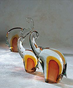 glass elephants - Google Search