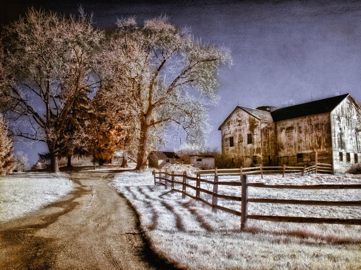 one of the many farms and barns located in Beaver County, PA