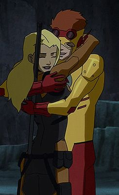 Wally West and Artemis❤️❤️