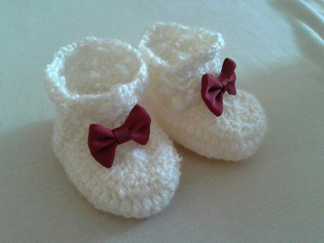 Zapatitos en crochet