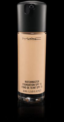 M.A.C. Matchmaster SPF 15 Foundation- I was never a fan of liquid make-up until this product. I love the non-greasy texture and it lasts all day! The color matching is great too...blends nicely with my own skin tone :)