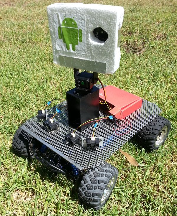 Android Based Robotics