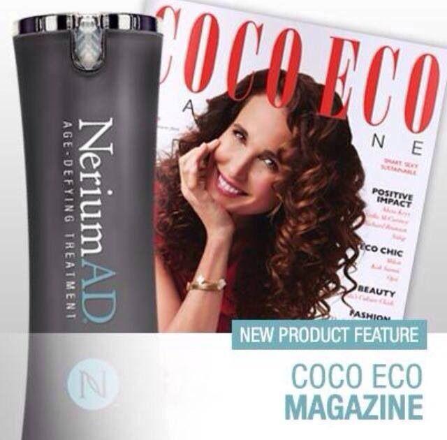Coco Eco magazine features Nerium