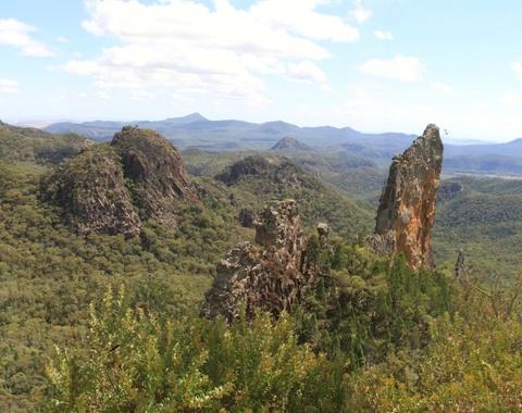 The Bread Knife in Warrumbungle National Park Australia