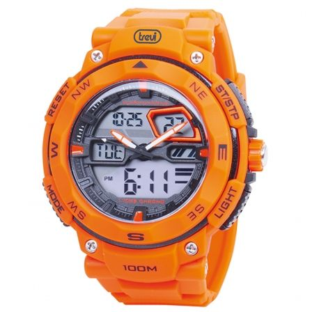 RELOJ ANALÓGICO Y DIGITAL TREVI SG 320 RACER NARANJA #electronics #technology #tech #holamobibellpuig #electronic #device #gadget #gadgets #instatech #instagood #geek #techie #nerd #techy #photooftheday #computers #laptops #hack #screen
