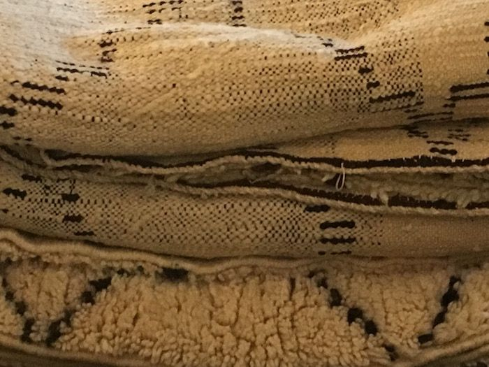 Beni Ouarain - a traditional Berber carpet