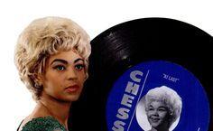 "vinylespassion: "" Beyoncé Knowles, Etta James - Chess Records, 2008. """