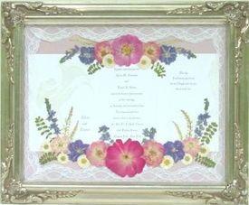 Framed Wedding Invitation is amazing invitation layout