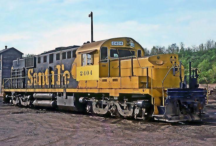 Lake Superior & Ishpeming Railroad, Alco RSD-15 diesel-electric locomotive in Marquette, Michigan, USA