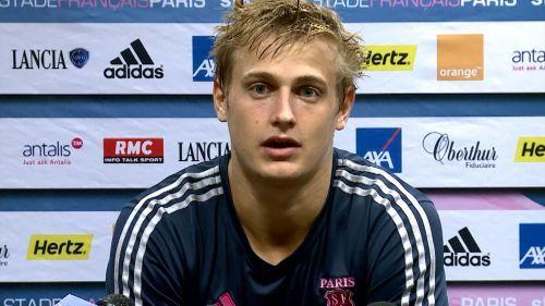 """Top 14, Stade français - Jules Plisson: """"Je n'ai jamais pris autant de plaisir"""" - Top 14 2013-2014 - Rugby - Rugbyrama"""