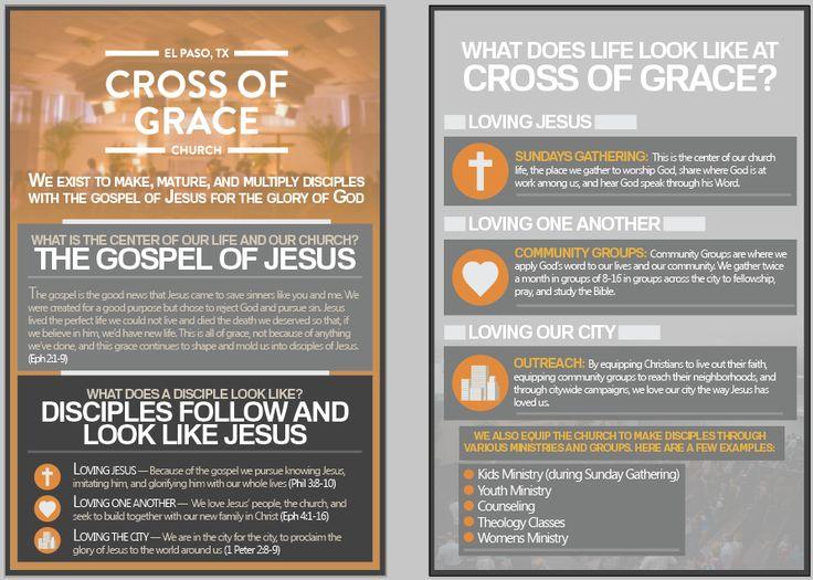 Cross of Grace's Information Flyer