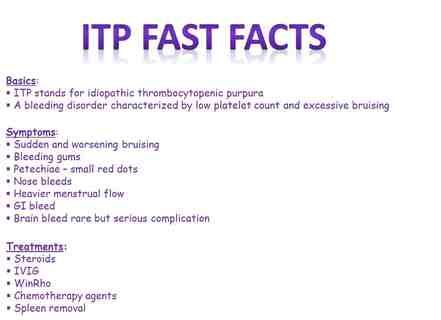 ITP facts