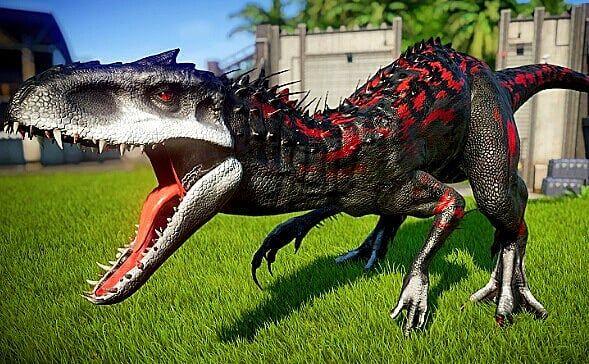 Jurassic Passion On Instagram Amazing Indominus Rex Skin In Jurassicworldevolution Made B Jurassic World Dinosaurs Jurassic World Wallpaper Dinosaur Images