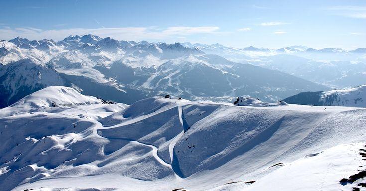 French Alps - La Plagne ski station