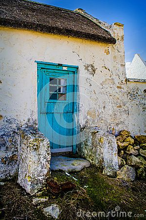 Cape Dutch Fisherman's House With Blue Door - Download From Over 24 Million High Quality Stock Photos, Images, Vectors. Sign up for FREE today. Image: 42776581