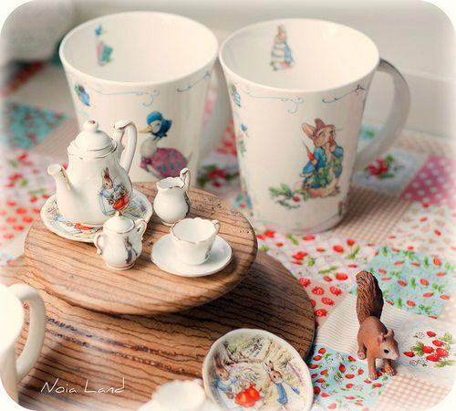 beatrix potter china