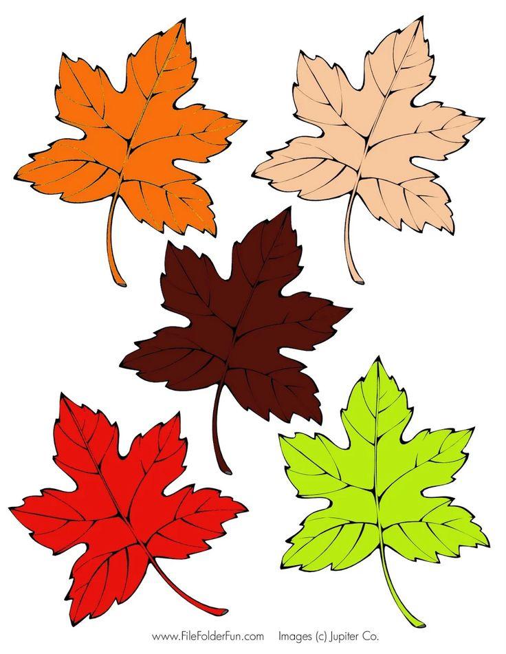 листья осенние картинки распечатать на цветной бумаги для тех, кто