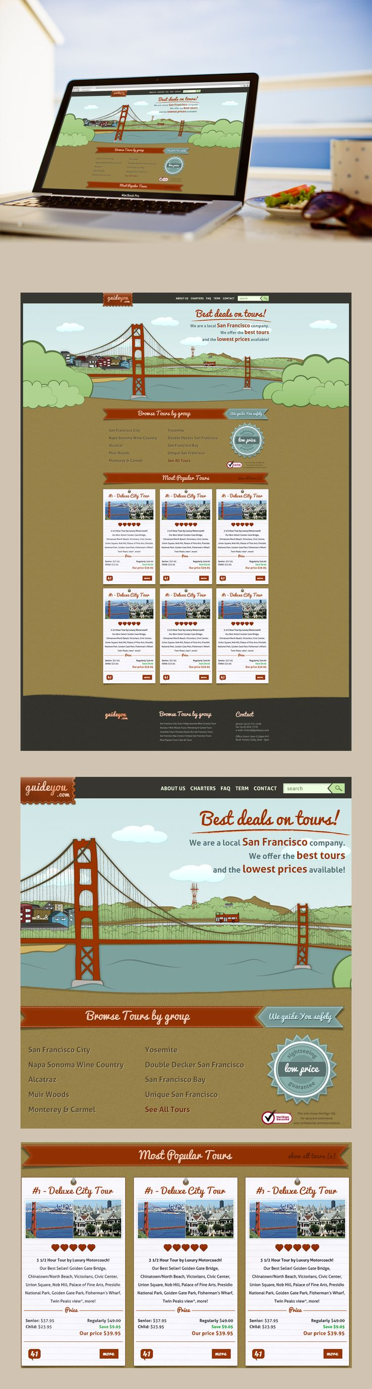 Guideyou | Webdesign | Retro
