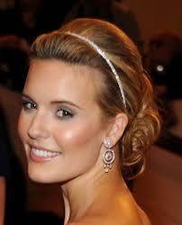 Bildergebnis für hochzeitsfrisuren mit haarband