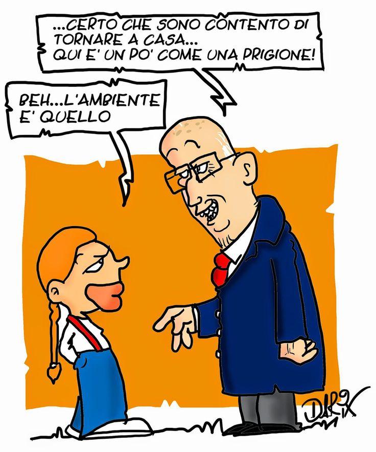 INSERTO SATIRICO: Addio di Napolitano...
