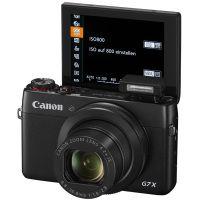 Canon PowerShot G7 X: Das Display kommt mit einer 180-Grad-Selfie-Funktion.