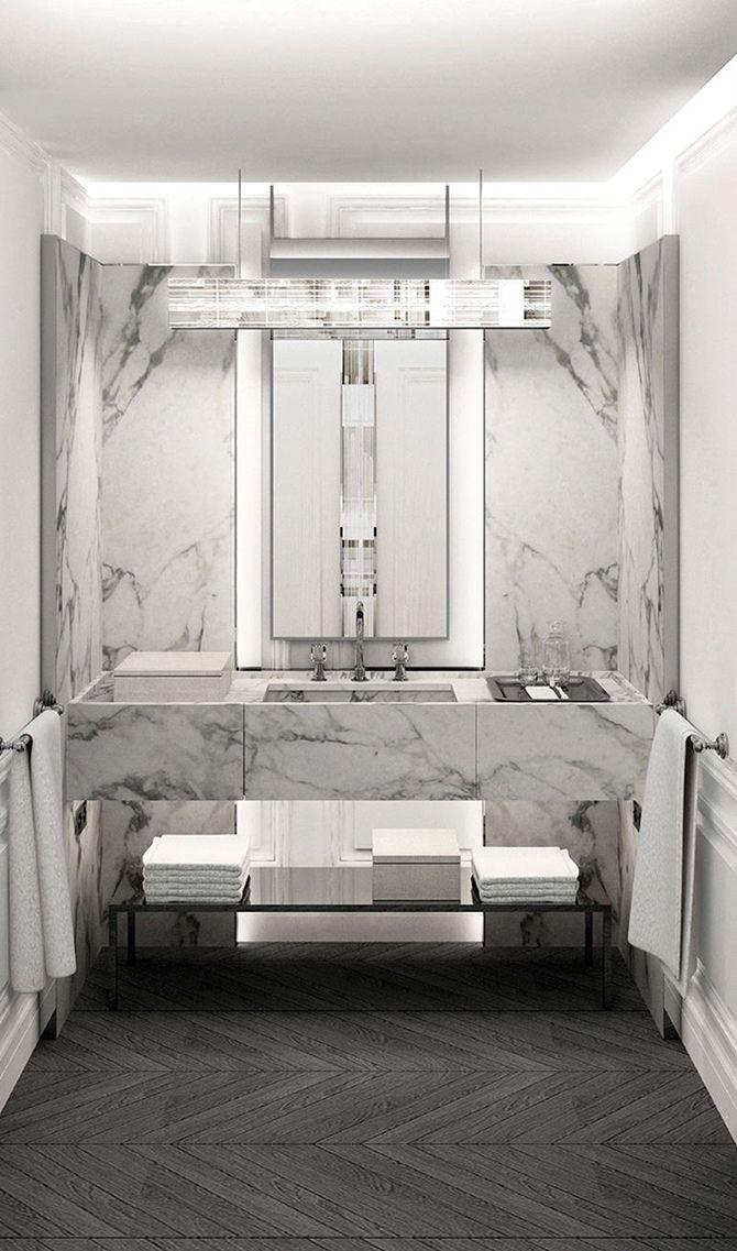 inaugurado em new york o primeiro baccarat hotel - Hotel Bathroom Design