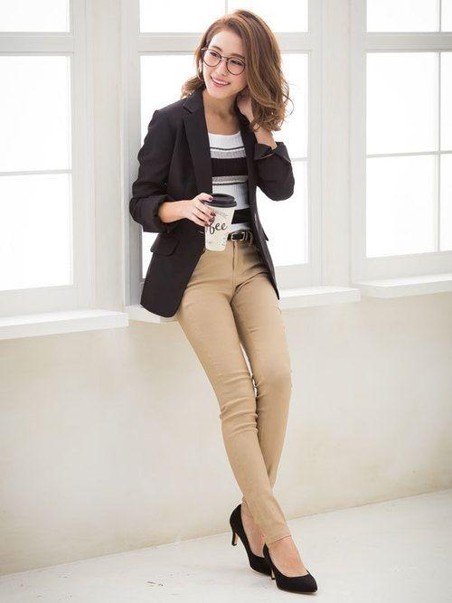 Newlymeのジャケット/アウター「ストレッチアンクル丈パンツスーツ」を使った夢展望(夢展望)のコーディネートです。WEARはモデル・俳優・ショップスタッフなどの着こなしをチェックできるファッションコーディネートサイトです。