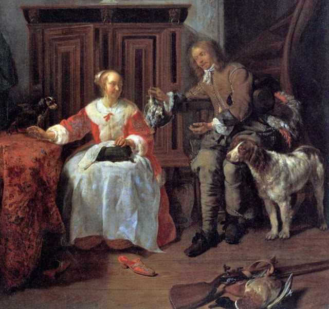 17 best images about painters dutch metsu gabriel on for Famous artist in baroque period