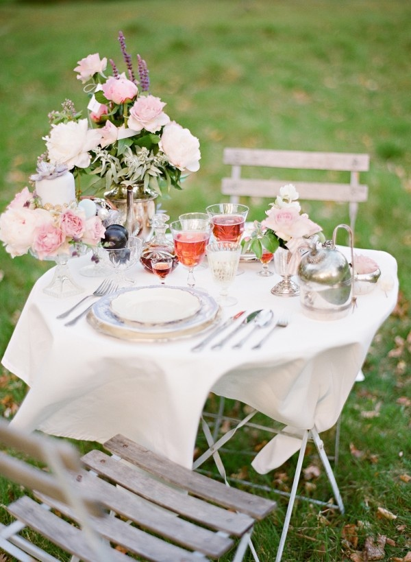 A table set for us