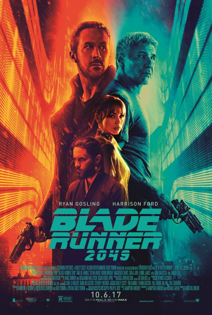 """The highly anticipated science fiction sequel, """"Blade Runner 2049,"""" starring Ryan Gosling, Harrison Ford, Ana de Armas, Sylvia Hoeks, Robin Wright, Mackenzie Davis, Carla Juri, Lennie James, Dave Bautista, Jared Leto, and Barkhad Abdi will be released in theaters this Friday, October 6. #BladeRunner2049 #moviereview #RyanGosling #HarrisonFord #SylviaHoeks #RobinWright #MackenzieDavis #CarlaJuri #LennieJames #DaveBautista #JaredLeto #BarkhaAbdi #DenisVilleneuve #neonoir #scifi #sequel #Movies"""