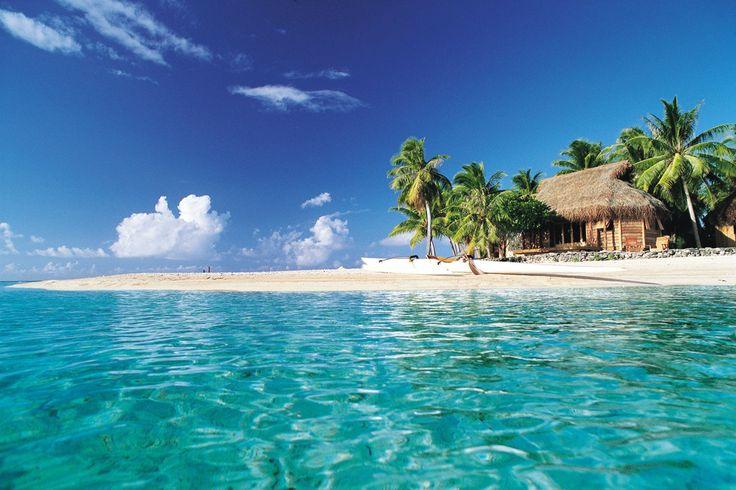Tikehau Pearl Beach Resort. Shop our beachwear collection at matthewwilliamson.com