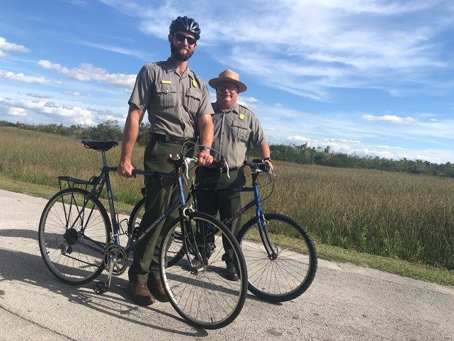 Ranger Bike Hike Everglades National Park Park Service