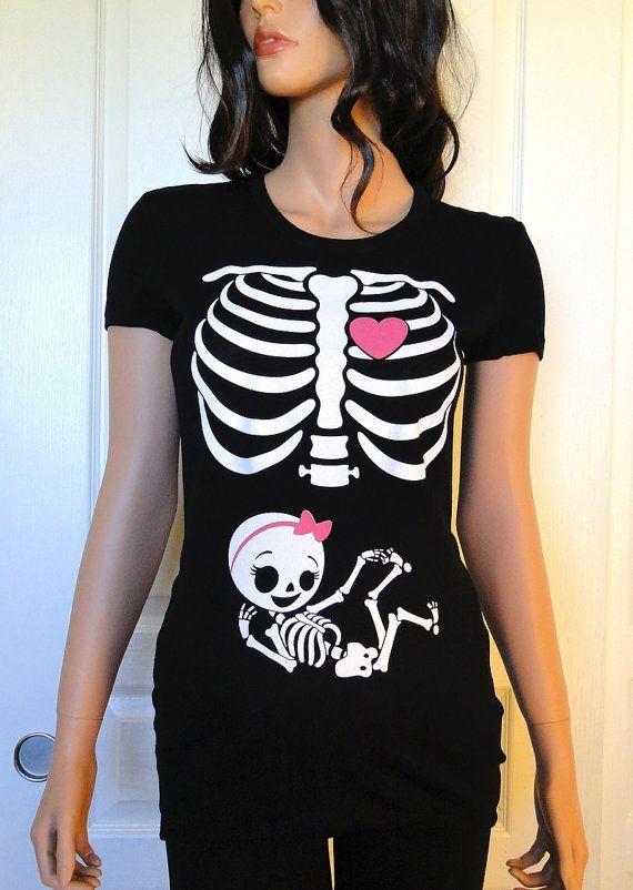 tee shirt femme enceinte halloween