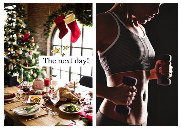Γιορτινό τραπέζι: Η επόμενη μέρα! Τι να φας και τι να κάνεις για να αποκτήσεις επίπεδη κοιλιά