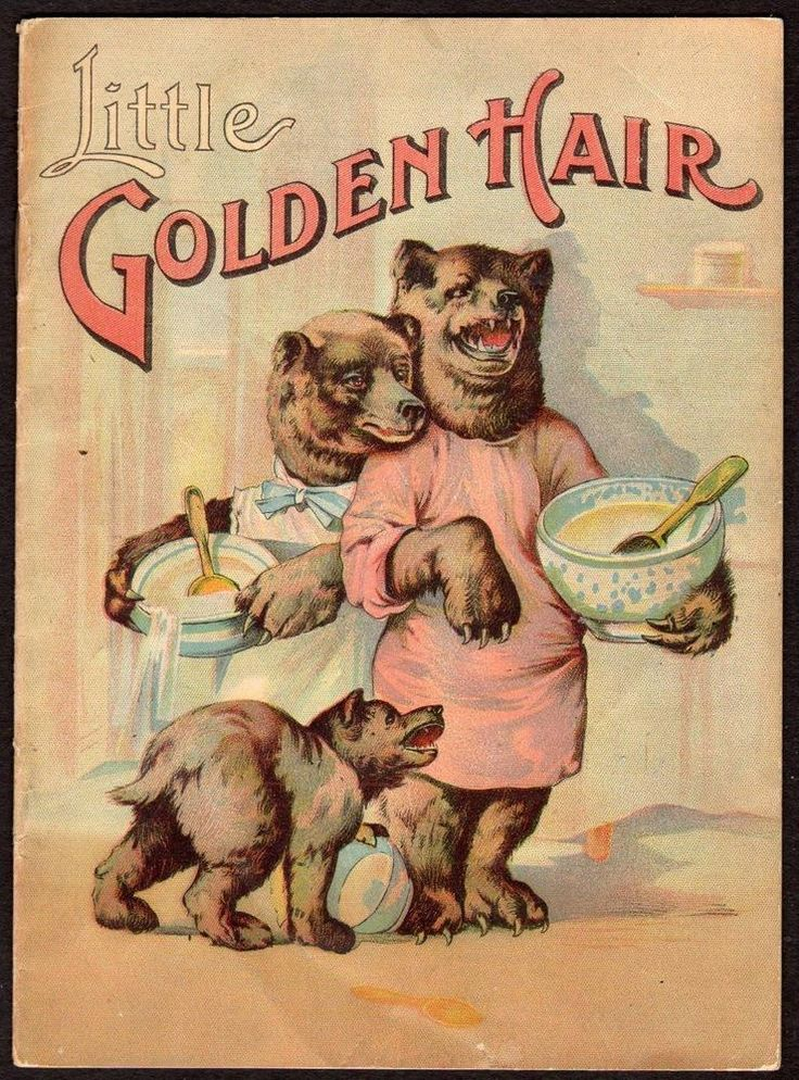 WESTMINSTER MARYLAND*MD*MILLER BROS STORE*LITTLE GOLDEN HAIR GOLDILOCKS 3 BEARS